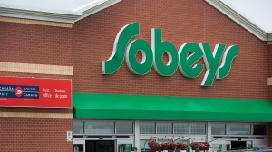 A Sobeys store is seen in Dartmouth, N.S., on Thursday, June 27, 2013. (The Canadian Press/Andrew Vaughan)
