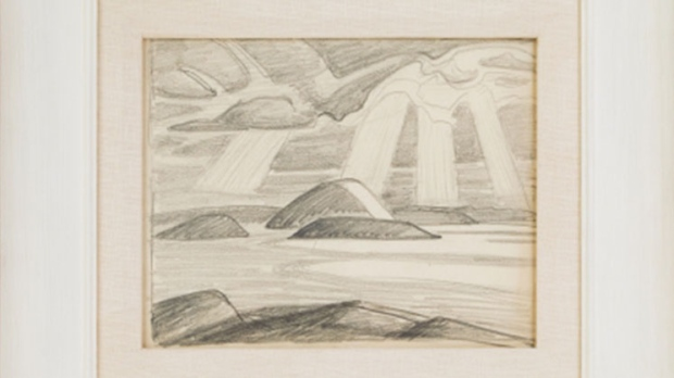 Lake Superior by Lawren Stewart Harris (Consignor Canadian Fine Art)