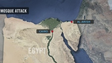 Hundreds killed at Egypt mosque