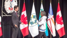 Prime Minister Justin Trudeau welcomes residential