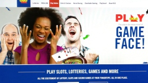 A screen image from the OLG website is shown in this Friday Nov. 24, 2017 photo. Ontario's gambling agency could soon allow online novelty bets to be placed on different scenarios. THE CANADIA PRESS/HO