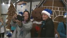 WestJet brings Christmas cheer to YOW