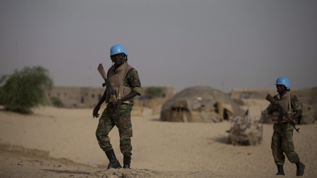 Four UN peacekeepers killed in separate attacks in Mali