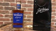 J.P. Wiser's releases 125 special bottles of legacy whiskey in Windsor, Ont., on Friday, Nov. 24, 2017. (Angelo Aversa / CTV Windsor)