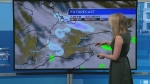 Chance of flurries this weekend