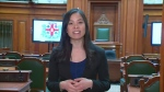 Cathy Wong has been named Speaker of Montreal City Council. She is the first woman to hold the post.