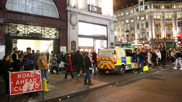 Oxford Circus incident: Two men who handed themselves in to police released