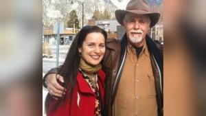 Margot Van Sluytman and Glen Flett are pictured in this undated photo.