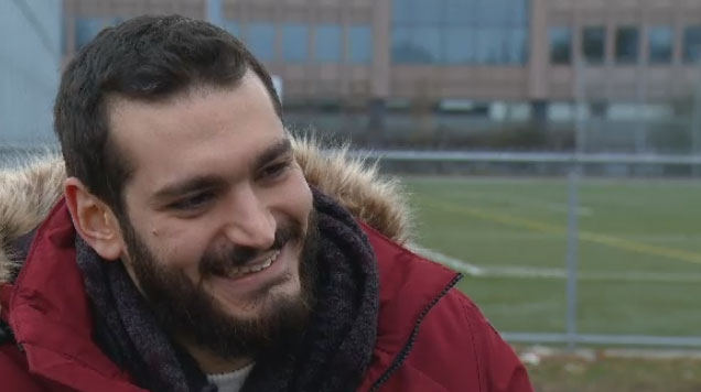 Since coming to Montreal from Syria, Jad Chanko had gotten involved with Operation Evac, a non-profit that raises money to help the city's refugee population.