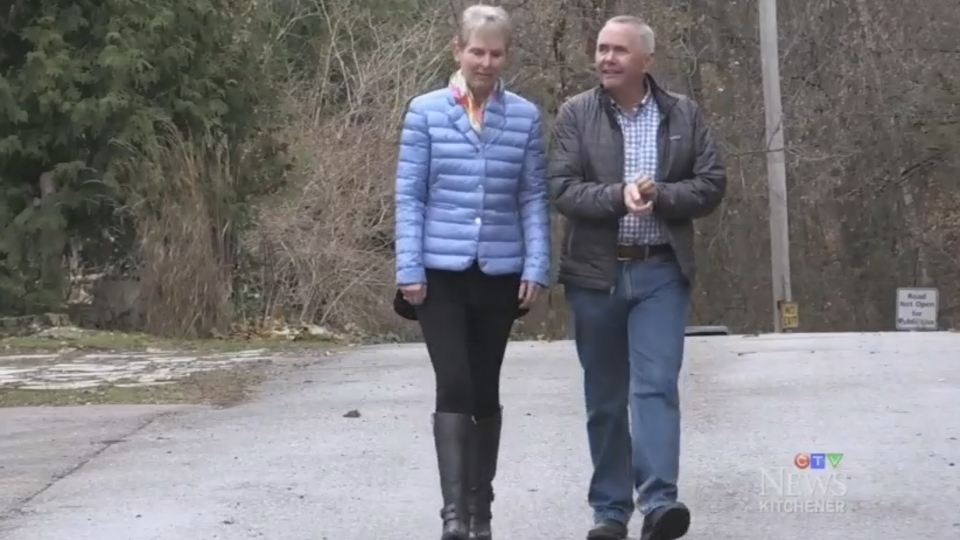 Jennifer and Jim Horton say they're embarrassed by the street's name and want it changed.