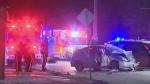 Late night crash in Point Douglas