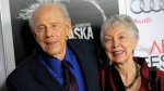 In this Nov. 11, 2013 file photo, Rance Howard, left, a cast member in 'Nebraska,' and his wife Judy pose together at the 2013 AFI Fest premiere of the film at the TCL Chinese Theatre in Los Angeles. (Photo by Chris Pizzello / Invision / AP, File)
