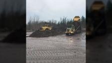 Highway still not fully open after mudslide