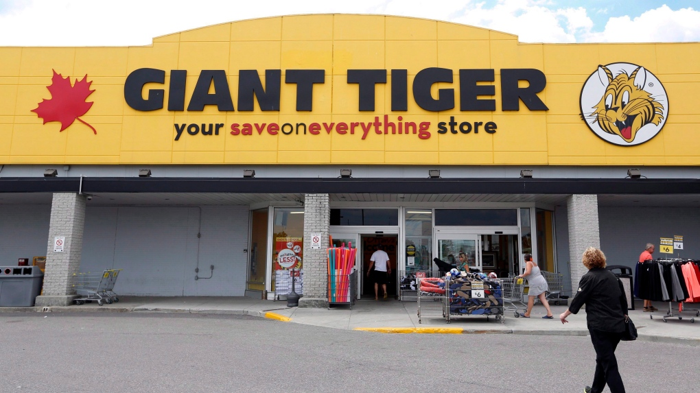 A newly-renovated Giant Tiger store