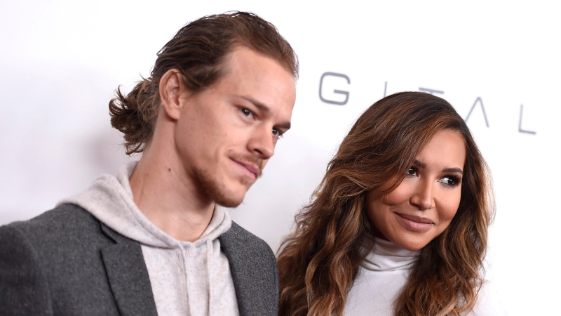 Ryan Dorsey, left, and Naya Rivera arrive at an event at the Beverly Wilshire hotel in Beverly Hills, Calif. on Dec. 4, 2015. (Photo by Jordan Strauss/Invision/AP,)