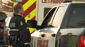 Armed standoff in Hardieville - Lethbridge