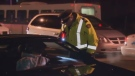 A police officer in Halifax conducts a traffic stop. (FILE)