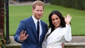 Prince Harry, Meghan Markle at Kensington Palace