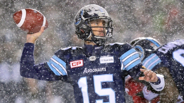 105th Grey Cup kicks off with early winter wallop, see here