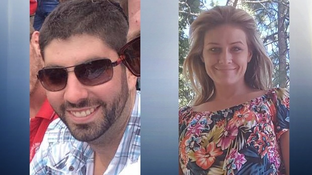 Dominic Neron and Ashley Bourgeault are seen in photos obtained by CTV News. Supplied.