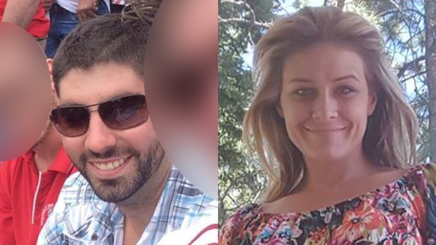Police have said 28-year-old pilot Dominic Neron and 31-year-old passenger Ashley Bourgeault were flying from Penticton, B.C., to Edmonton on Nov. 25 when the single-engine plane vanished.