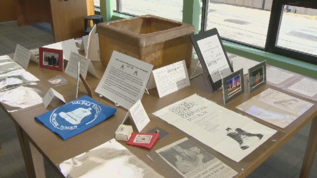 A time capsule is being used to capture the history of the Halifax Explosion.