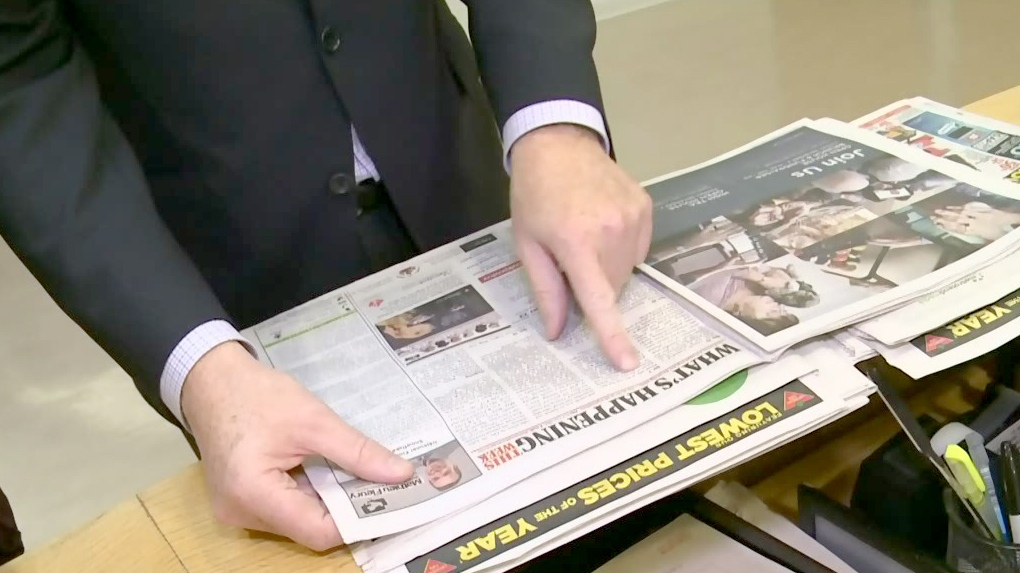 Postmedia folds local newspapers