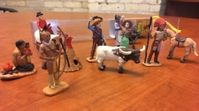 """""""I don't want to see my children's culture or my husband's culture represented in that way in a store like Michaels,"""" said Erin Vandale of the play set. (Sarah Plowman/CTV News)"""