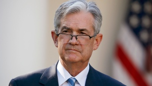In this Thursday, Nov. 2, 2017, file photo, Federal Reserve board member Jerome Powell stands as President Donald Trump announces him as his nominee for the next chair of the Federal Reserve in the Rose Garden of the White House in Washington. (Alex Brandon / AP)