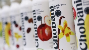 Chobani yogurt products