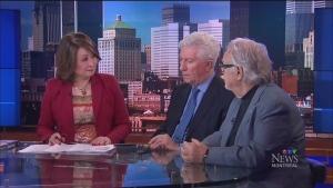 Former Bloc Quebecois leader Gilles Duceppe and hi
