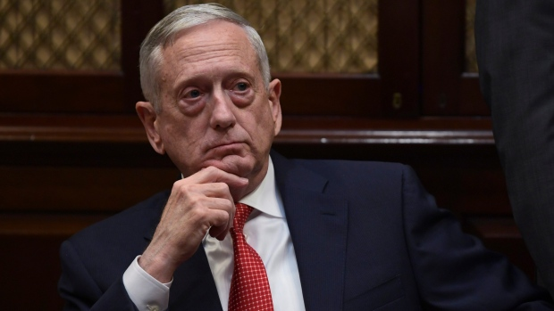 U.S. Defense Secretary James Mattis