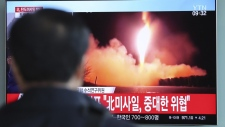 News of the North Korean missile launch