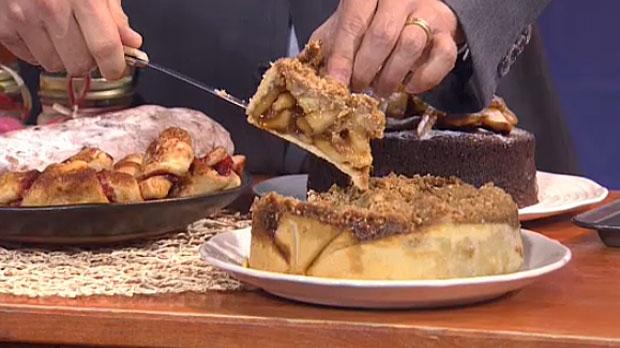 Apple pie from Sunterra, November 29