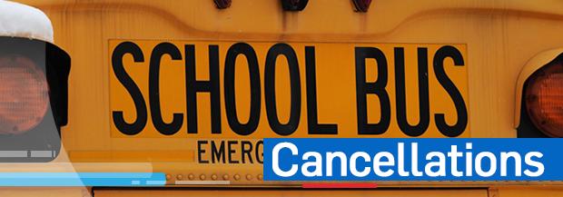 School Bus Cancellations