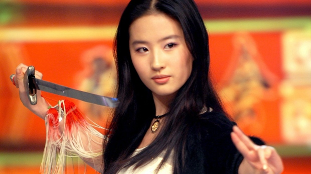 Disney casts Chinese actress in remake of Mulan amid Hollywood whitewashing claims