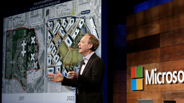 Microsoft to start full renovation of Redmond campus