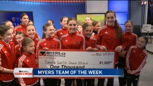Myers Team of the Wee: Denise Smith Dance Studio