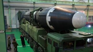 Hwasong-15 ballistic missile