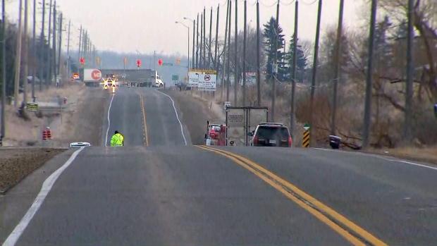 One man dead in early morning crash near Bolton