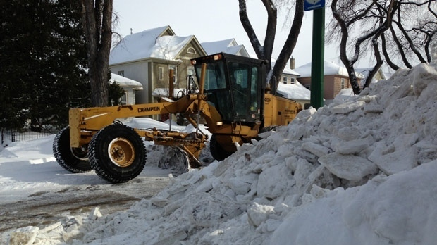 Snow route parking ban in effect starting tonight