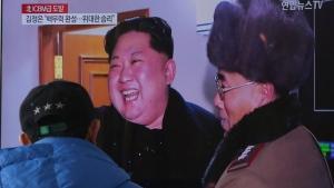 Kim Jong UN celebrates missile