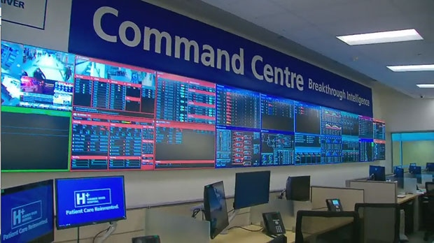 Humber River Hospital, command centre
