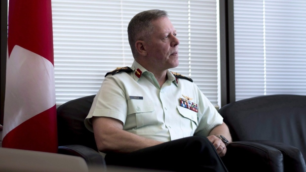 Chief of the Defence Staff Gen. Jonathan Vance