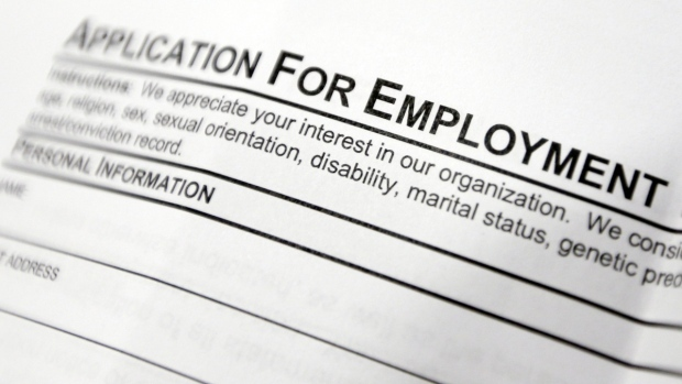 Statistics Canada said Friday that the economy churned out another 79,500 net new jobs in November and drove the jobless rate down 0.4 percentage points from 6.3 per cent the month before.