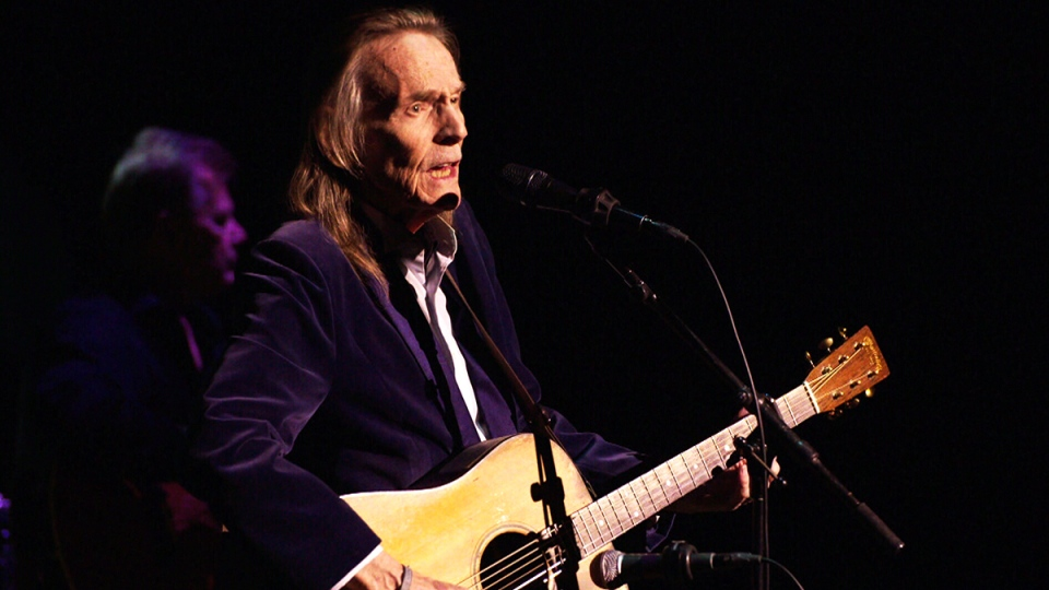 Gordon Lightfoot on stage during his recent North American tour (W5)