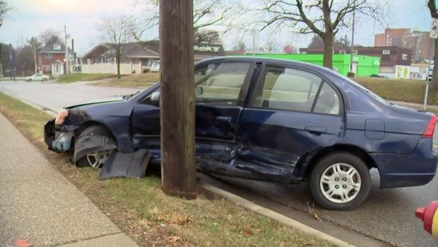 Charles Street crash