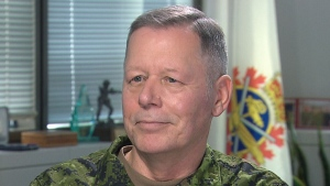 Canada's top soldier, Chief of defence staff Gen. Jonathan Vance, speaks with CTV's Mercedes Stephenson.