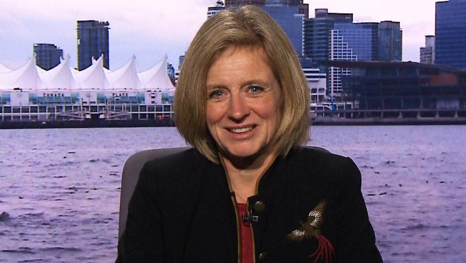 Alberta Premier Rachel Notley on CTV's Question Period.