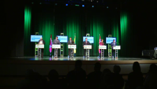 Saskatchewan Party leadership debate in Weyburn